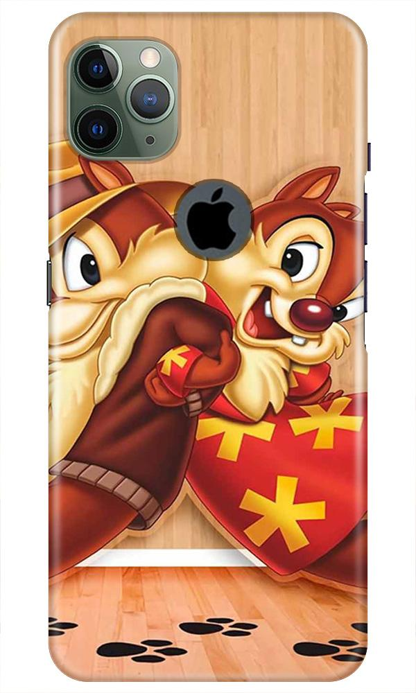 Chip n Dale Mobile Back Case for iPhone 11 Pro Max Logo Cut (Design - 335)