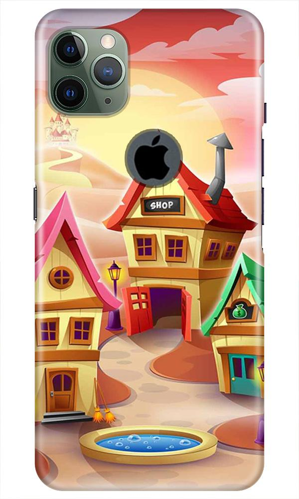 Sweet Home Mobile Back Case for iPhone 11 Pro Max Logo Cut (Design - 338)