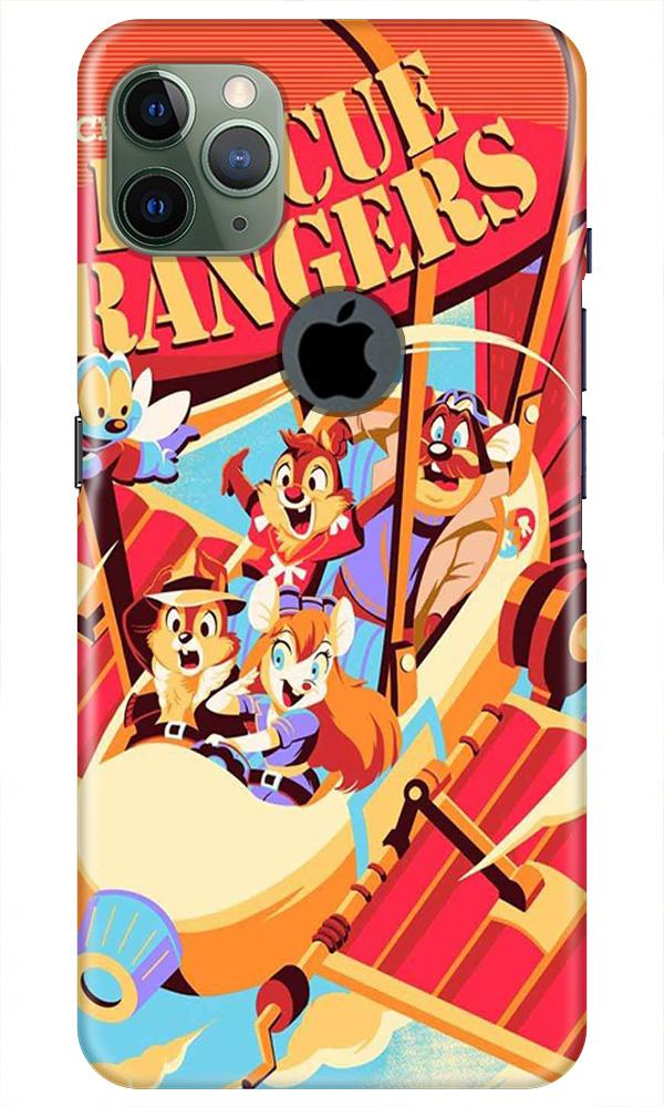 Rescue Rangers Mobile Back Case for iPhone 11 Pro Max Logo Cut (Design - 341)