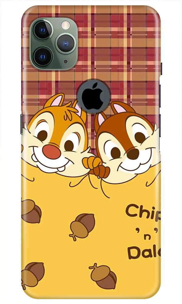 Chip n Dale Mobile Back Case for iPhone 11 Pro Max Logo Cut (Design - 342)