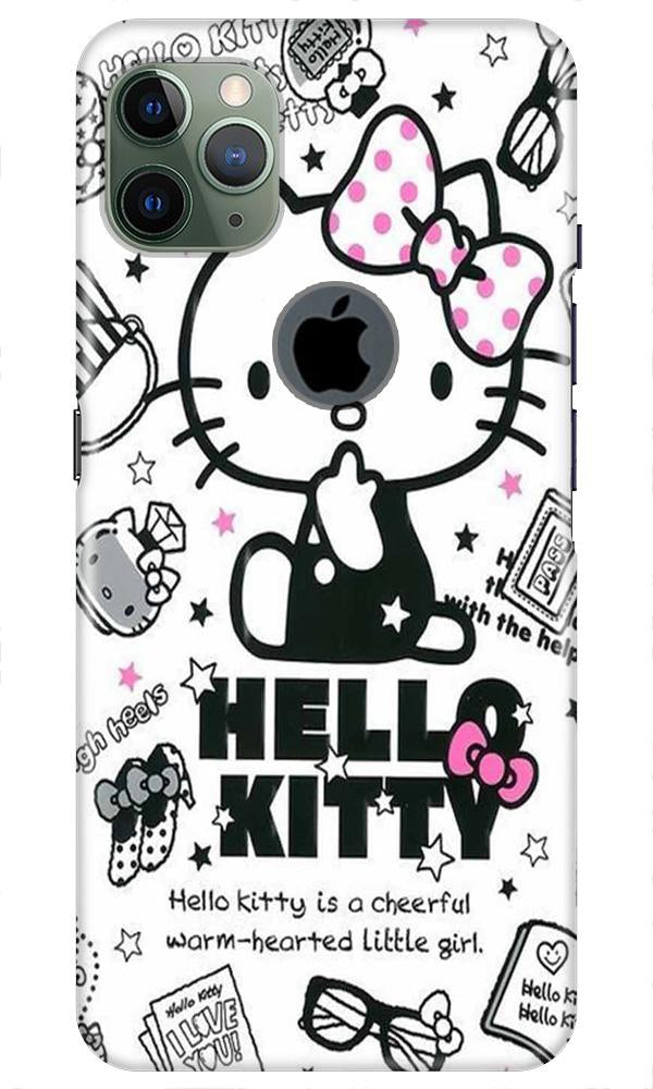 Hello Kitty Mobile Back Case for iPhone 11 Pro Max Logo Cut (Design - 361)