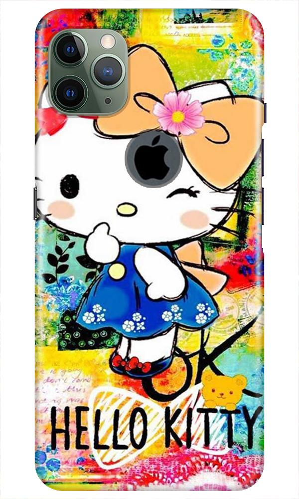 Hello Kitty Mobile Back Case for iPhone 11 Pro Max Logo Cut (Design - 362)