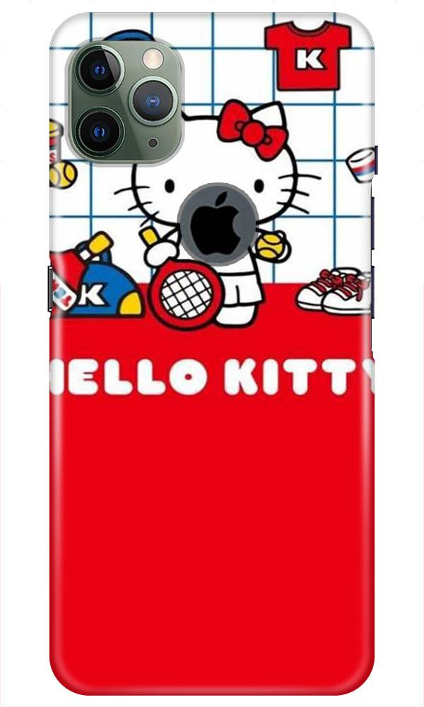 Hello Kitty Mobile Back Case for iPhone 11 Pro Max Logo Cut (Design - 363)