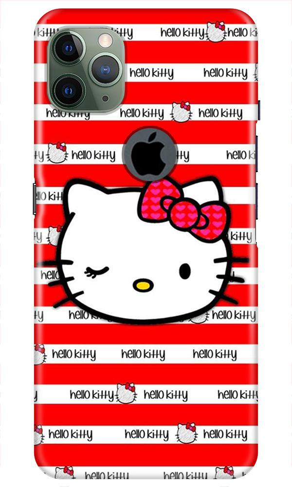 Hello Kitty Mobile Back Case for iPhone 11 Pro Max Logo Cut (Design - 364)