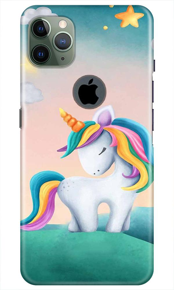 Unicorn Mobile Back Case for iPhone 11 Pro Max Logo Cut (Design - 366)