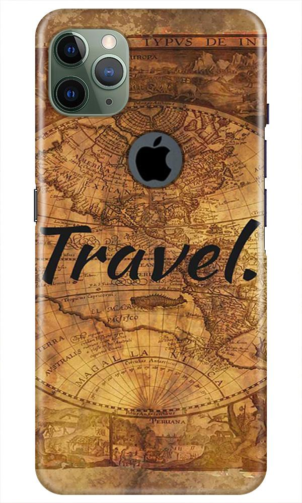 Travel Mobile Back Case for iPhone 11 Pro Max Logo Cut (Design - 375)