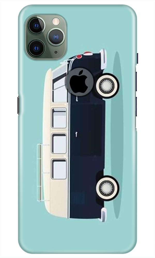Travel Bus Mobile Back Case for iPhone 11 Pro Max Logo Cut (Design - 379)