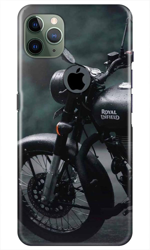 Royal Enfield Mobile Back Case for iPhone 11 Pro Max Logo Cut (Design - 380)