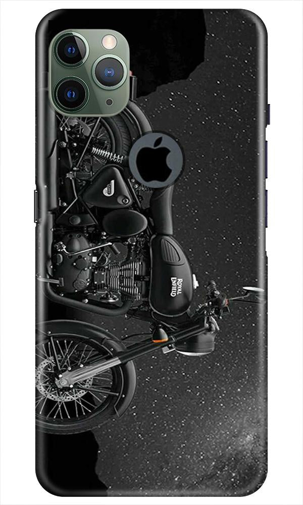 Royal Enfield Mobile Back Case for iPhone 11 Pro Max Logo Cut (Design - 381)