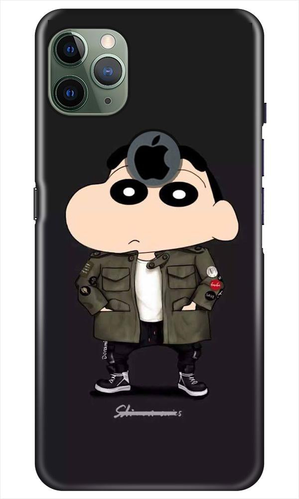 Shin Chan Mobile Back Case for iPhone 11 Pro Max Logo Cut (Design - 391)