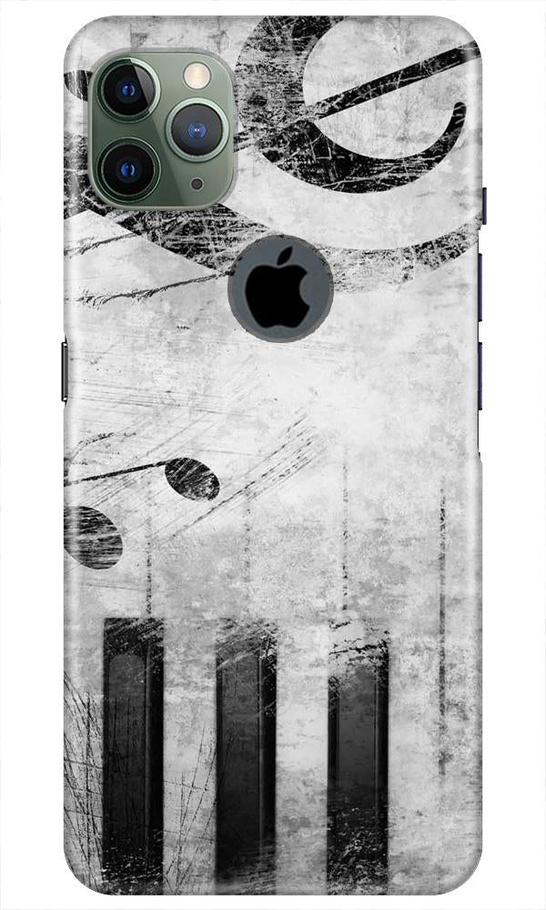Music Mobile Back Case for iPhone 11 Pro Max Logo Cut (Design - 394)
