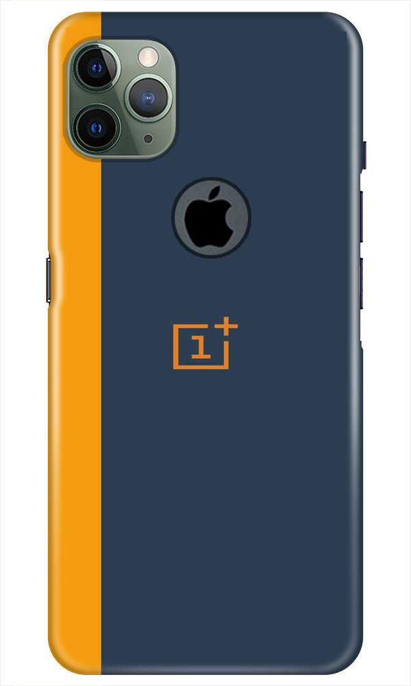 Oneplus Logo Mobile Back Case for iPhone 11 Pro Max Logo Cut (Design - 395)