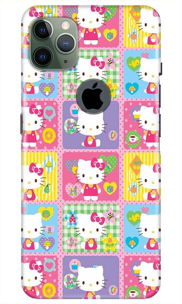 Kitty Mobile Back Case for iPhone 11 Pro Max Logo Cut (Design - 400)