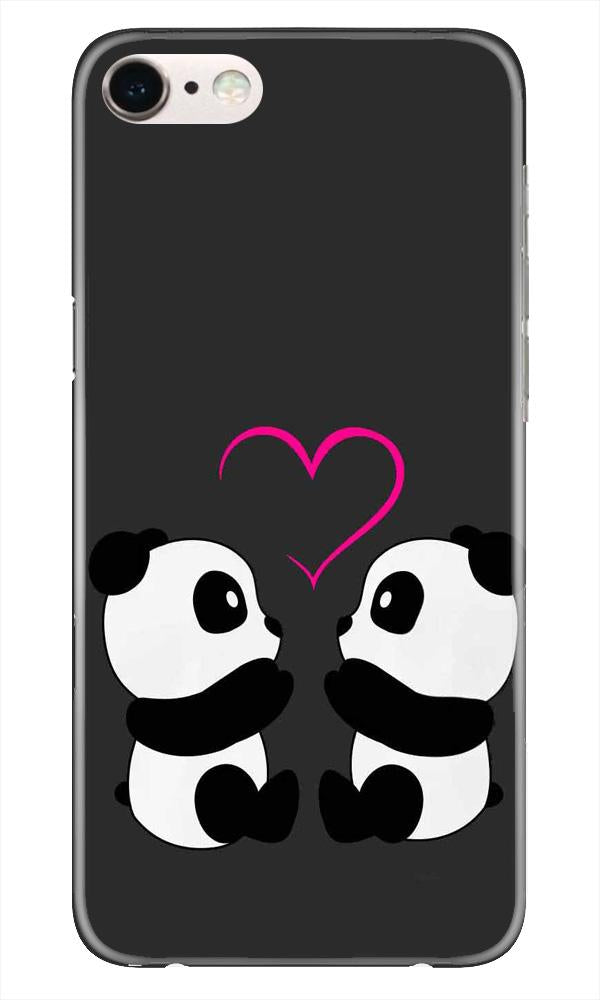 Panda Love Mobile Back Case for iPhone 6 / 6s   (Design - 398)