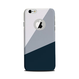 Blue Shade Case for iPhone 6 Plus / 6s Plus logo cut  (Design - 182)