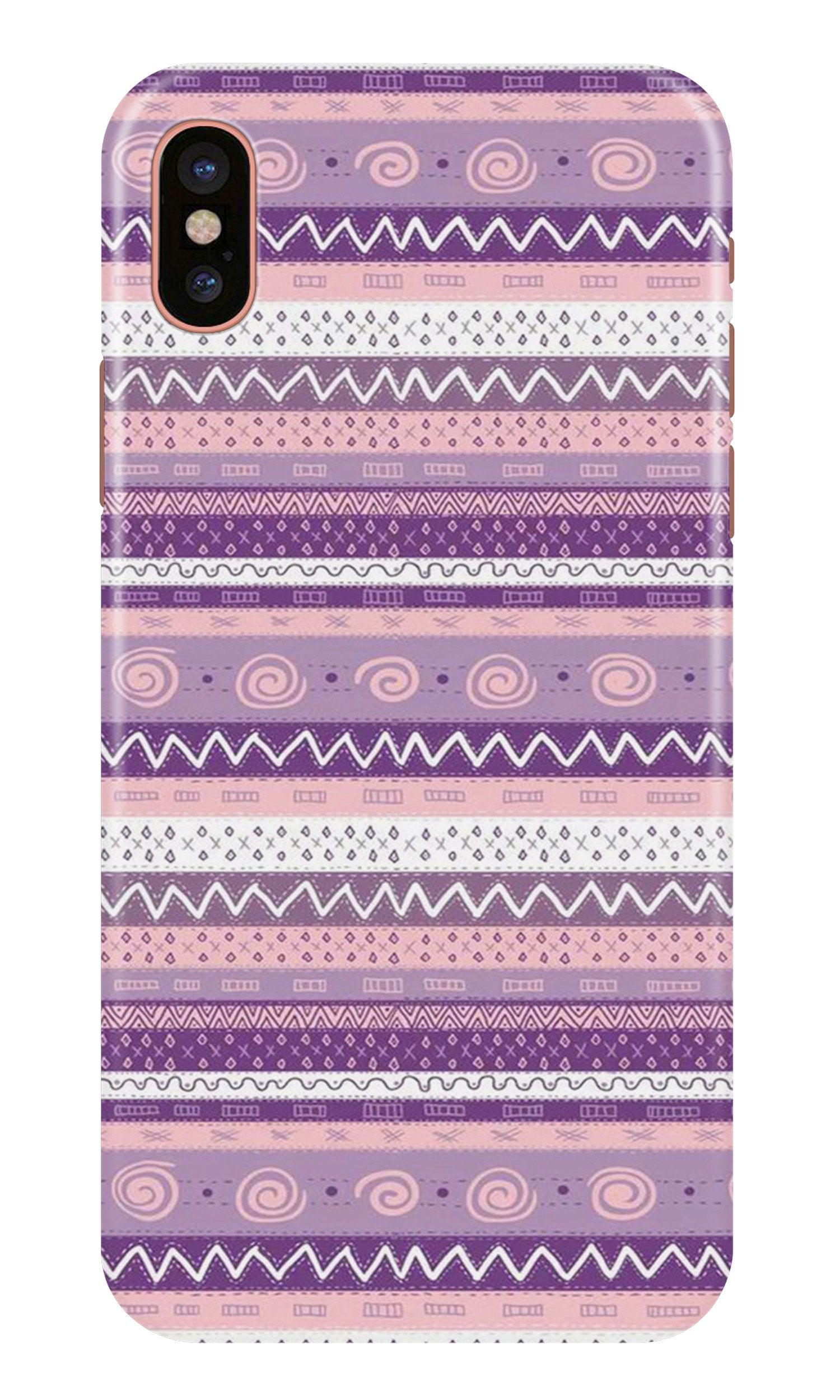 Zigzag line pattern3 Case for iPhone X