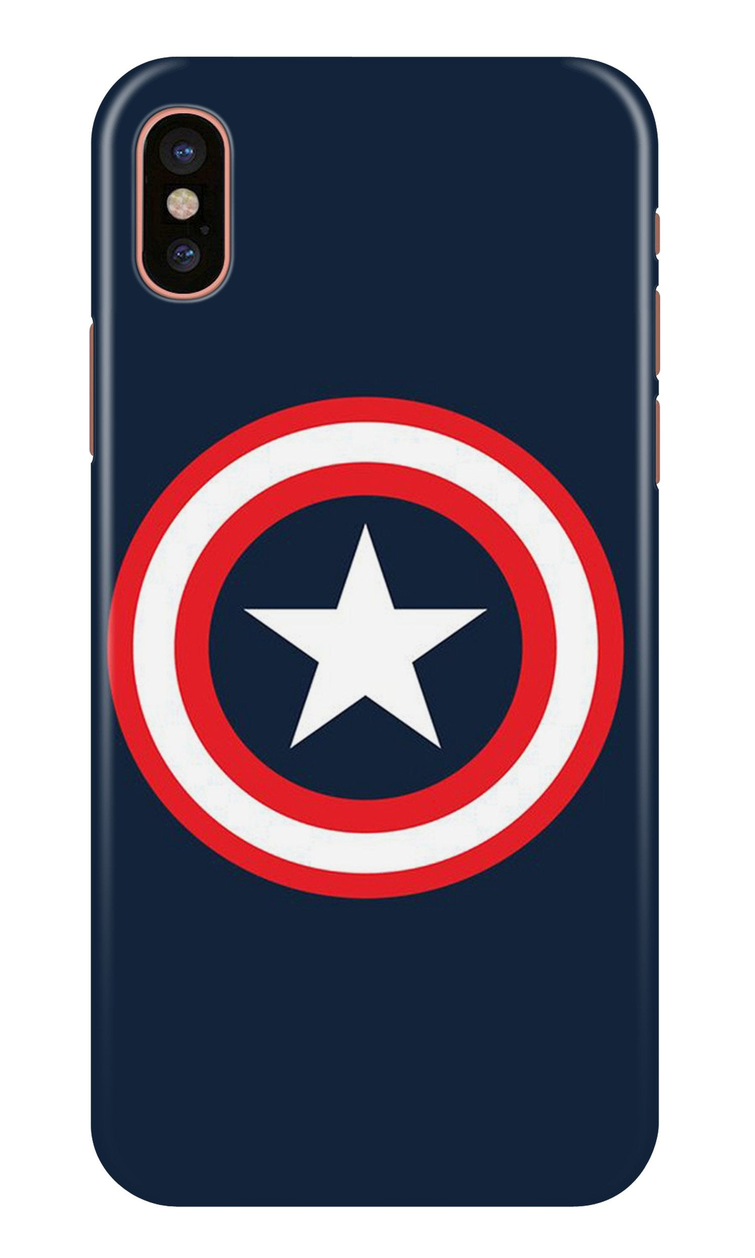 Captain America Case for iPhone X