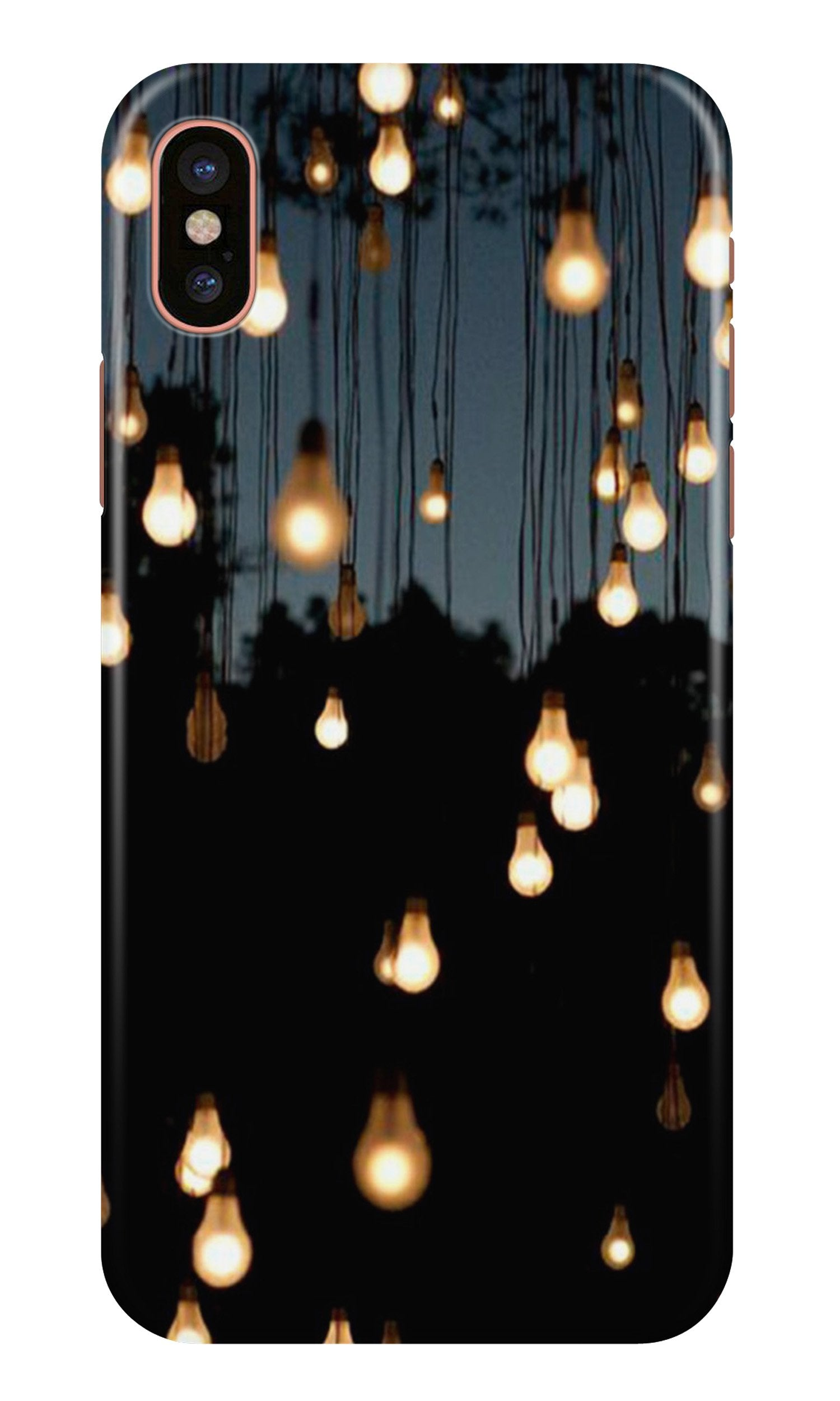 Party Bulb Case for iPhone X