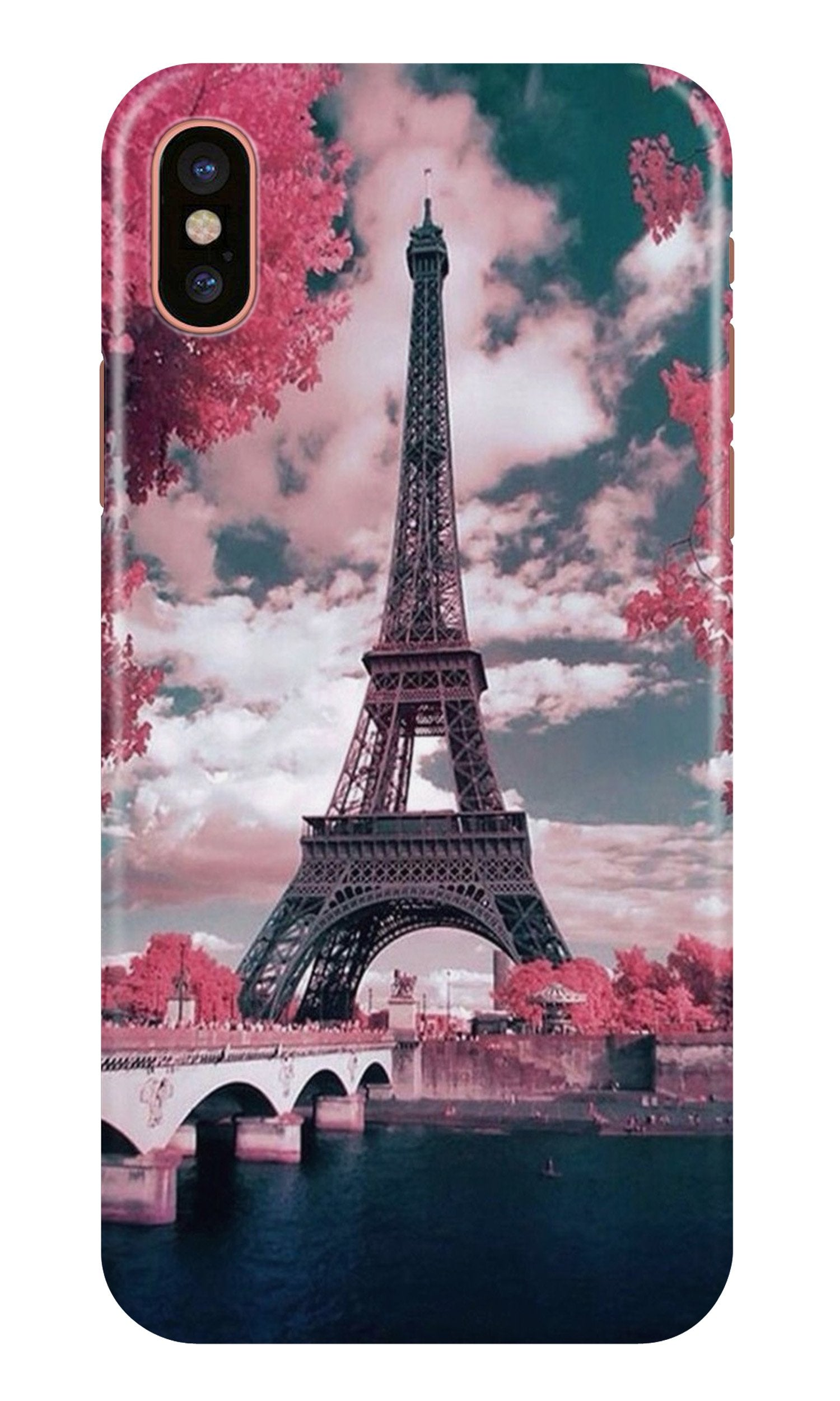 Eiffel Tower Case for iPhone X  (Design - 101)