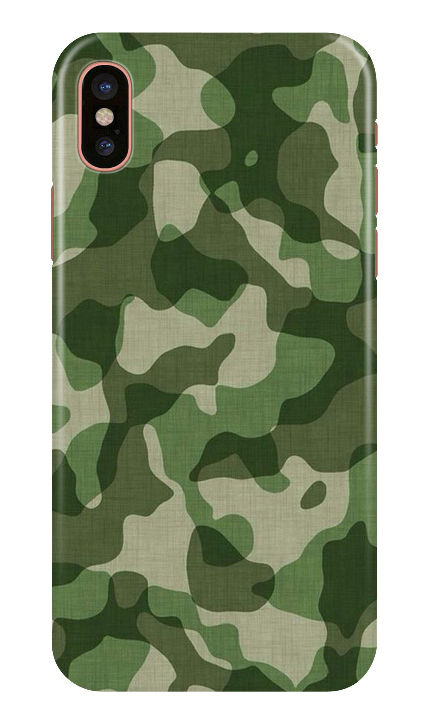 Army Camouflage Case for iPhone X  (Design - 106)