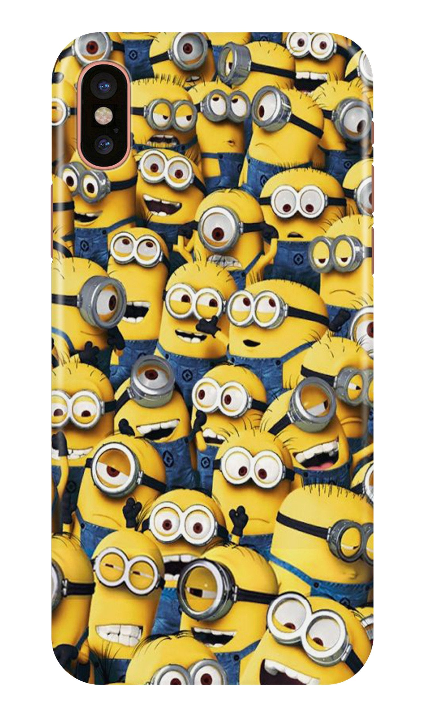 Minions Case for iPhone X  (Design - 126)