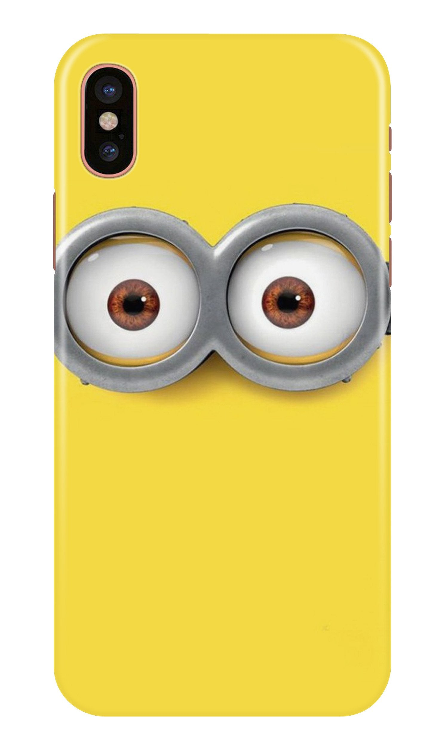 Minions Case for iPhone X  (Design - 128)