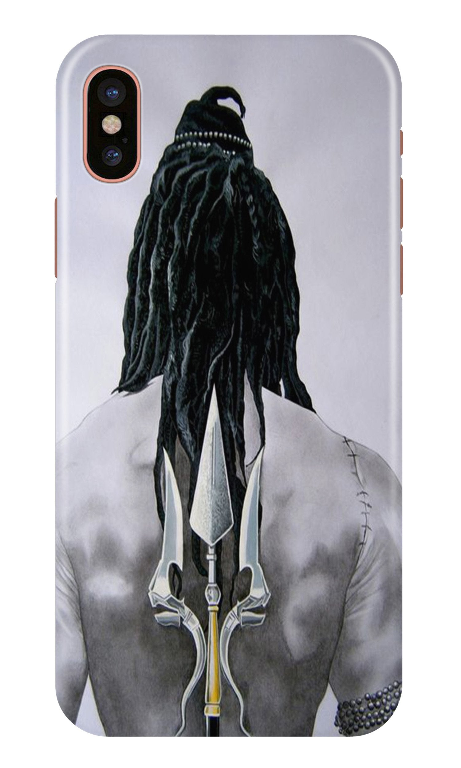 Lord Shiva Case for iPhone X  (Design - 135)