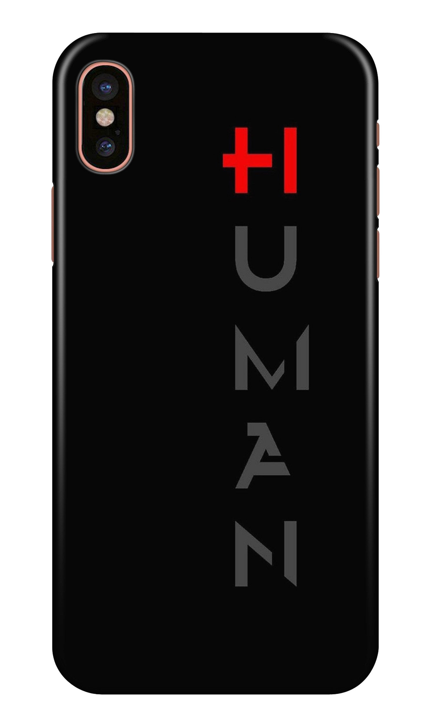 Human Case for iPhone X  (Design - 141)