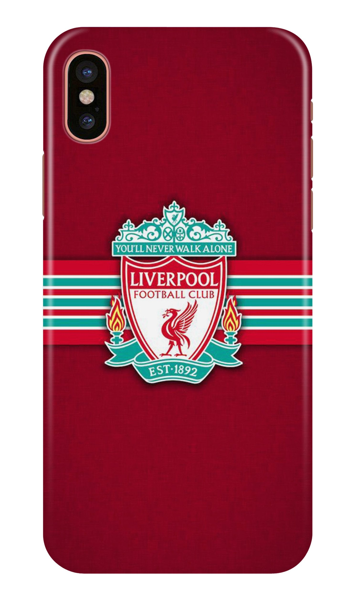 Liverpool Case for iPhone X  (Design - 171)