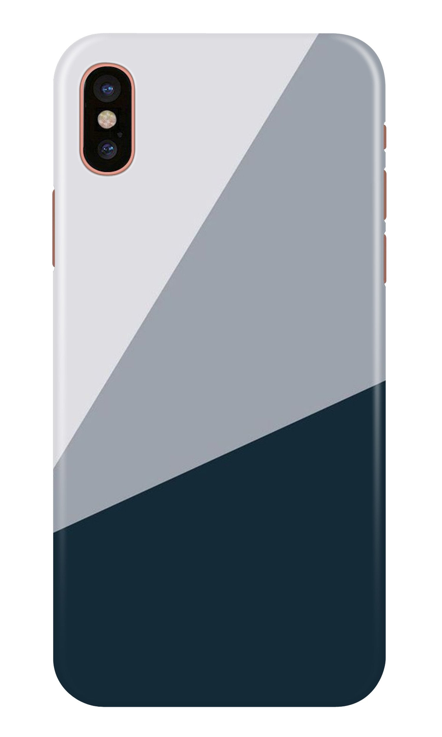 Blue Shade Case for iPhone X (Design - 182)