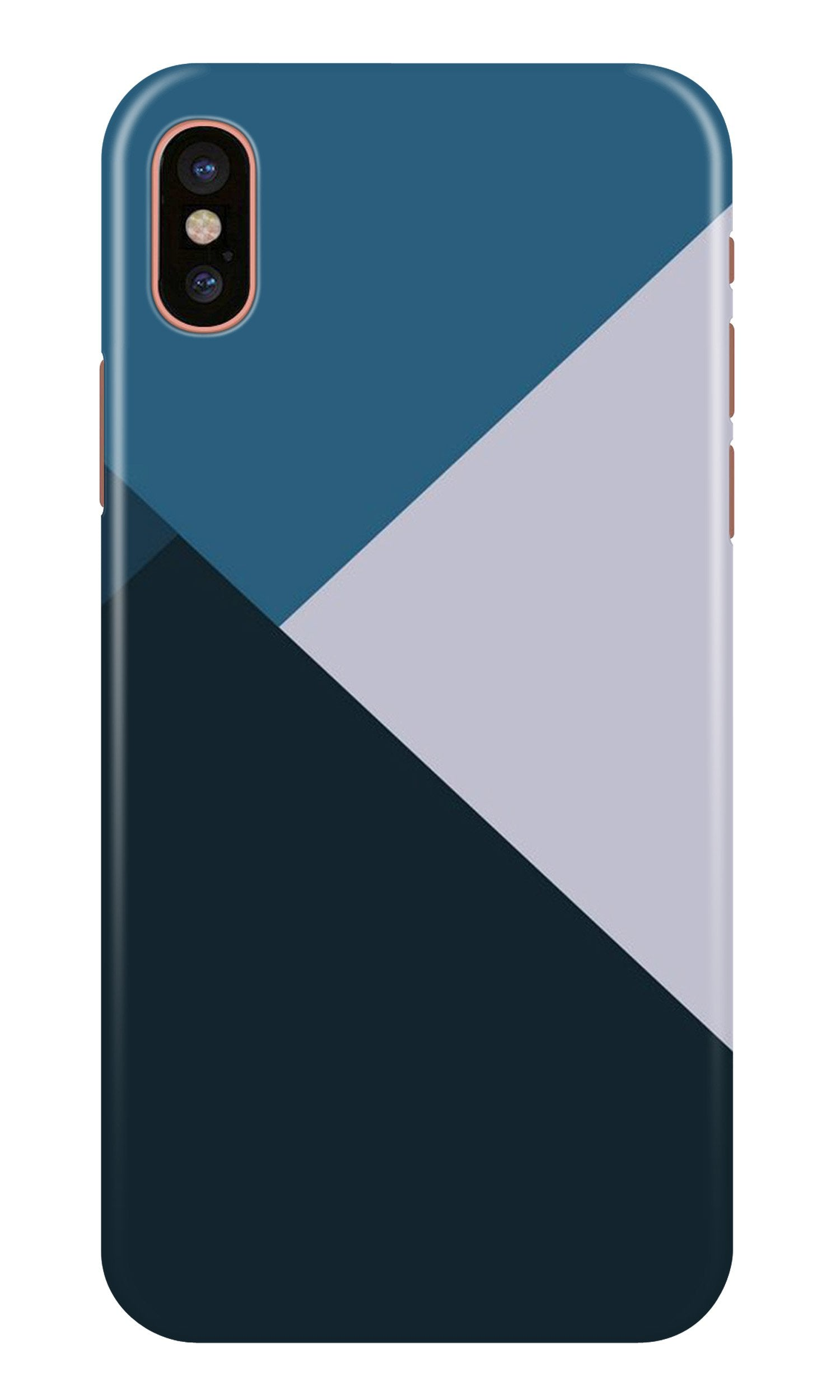Blue Shades Case for iPhone X (Design - 188)
