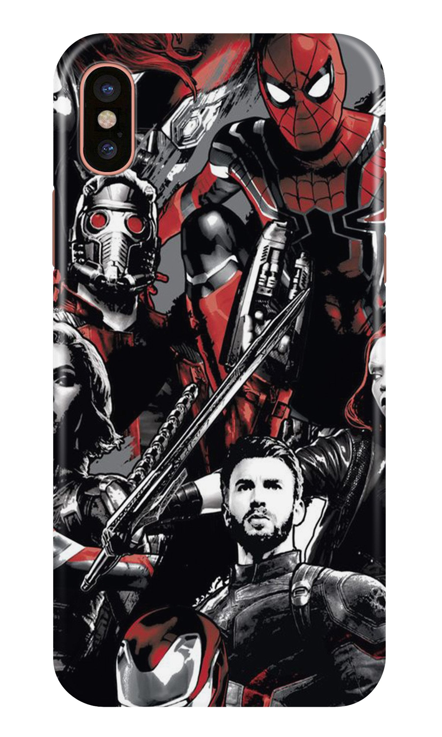 Avengers Case for iPhone X (Design - 190)