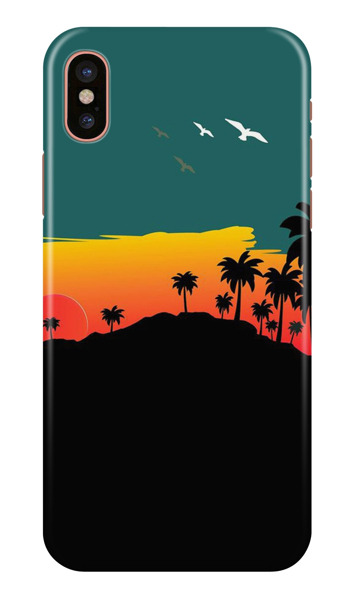 Sky Trees Case for iPhone X (Design - 191)