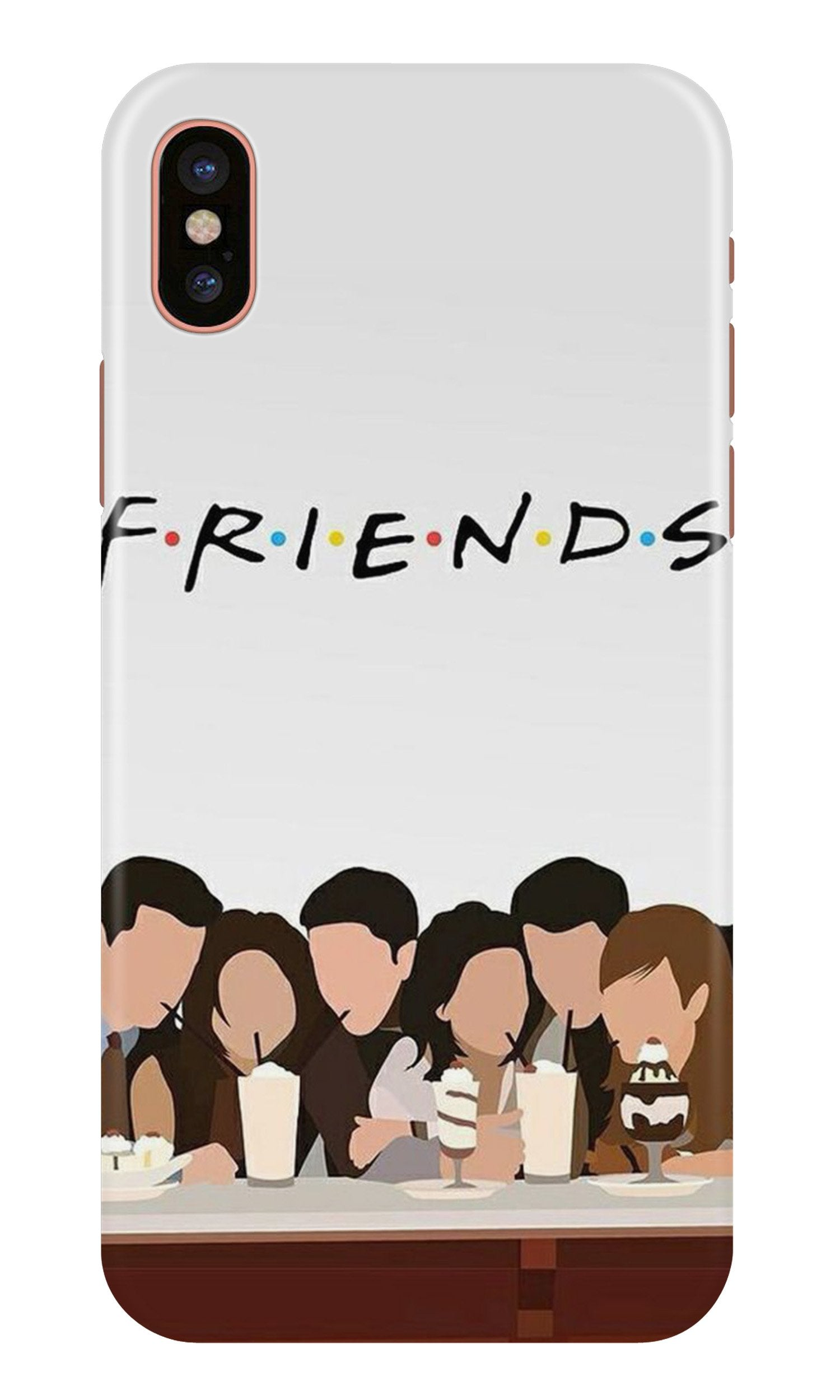 Friends Case for iPhone X (Design - 200)