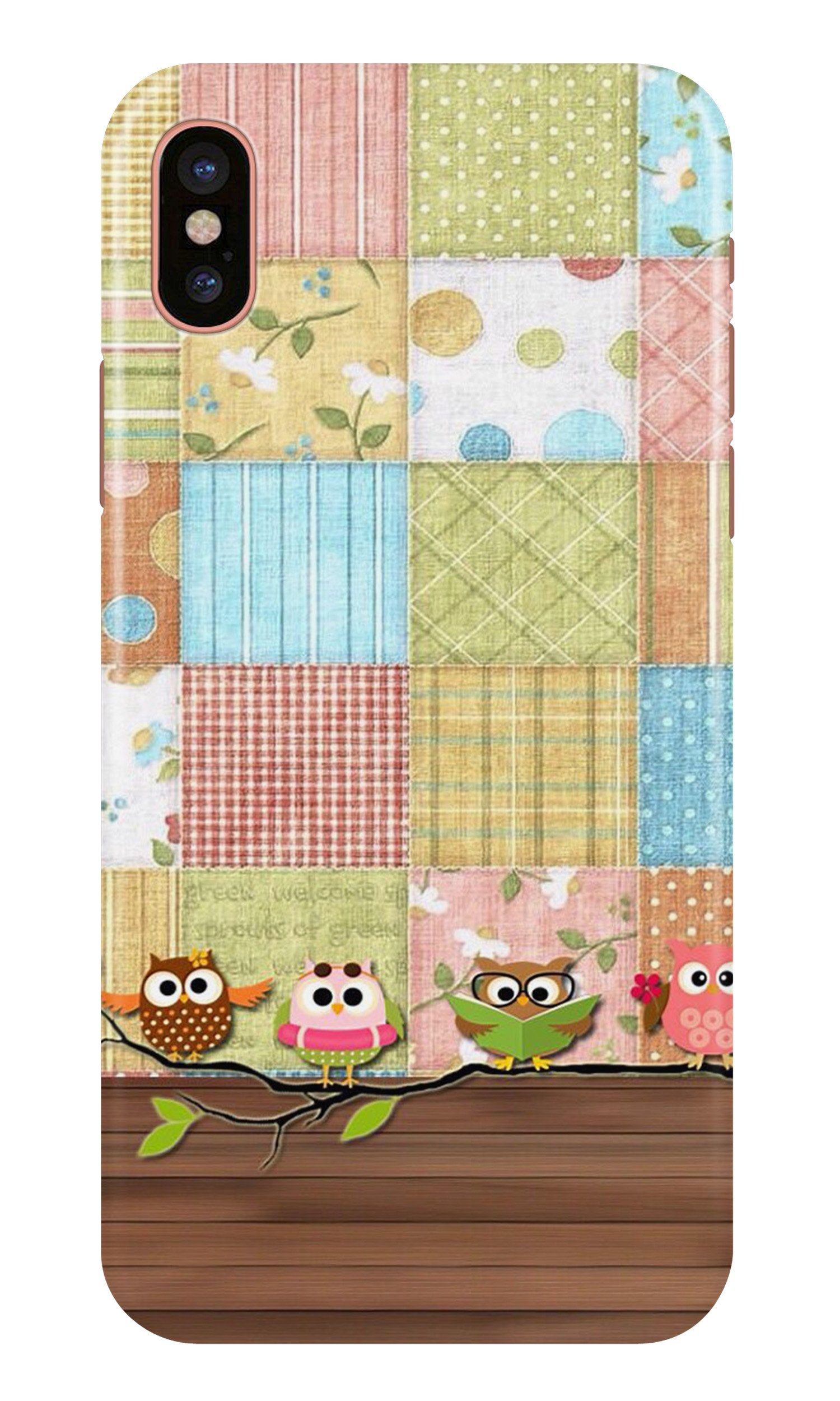 Owls Case for iPhone X (Design - 202)
