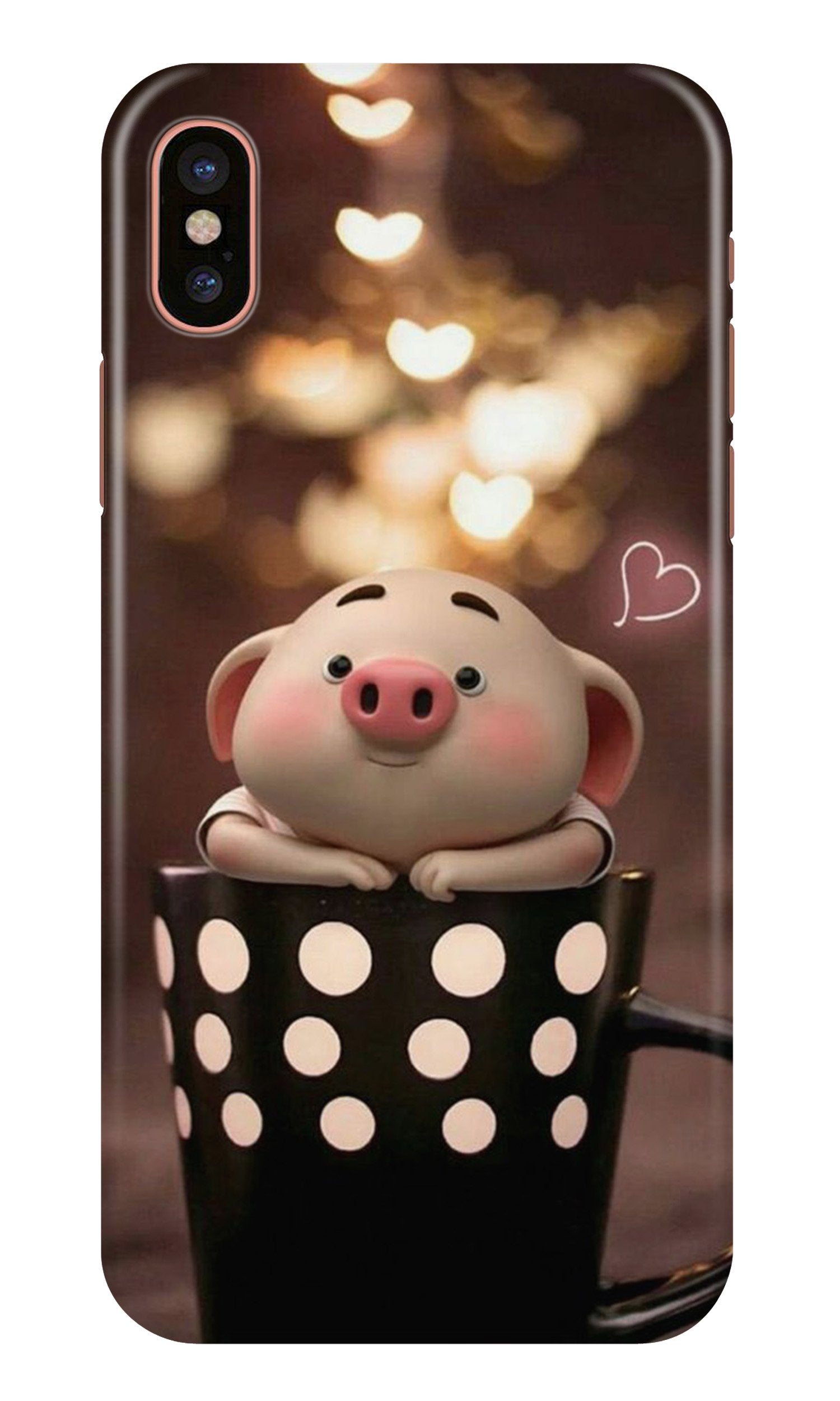 Cute Bunny Case for iPhone X (Design No. 213)