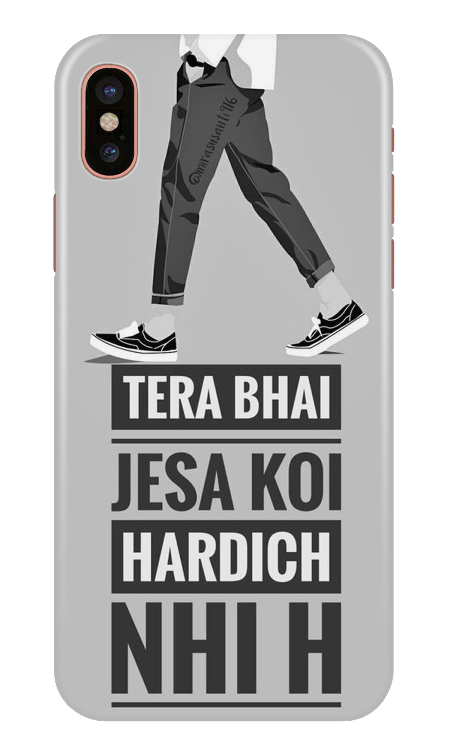Hardich Nahi Case for iPhone X (Design No. 214)