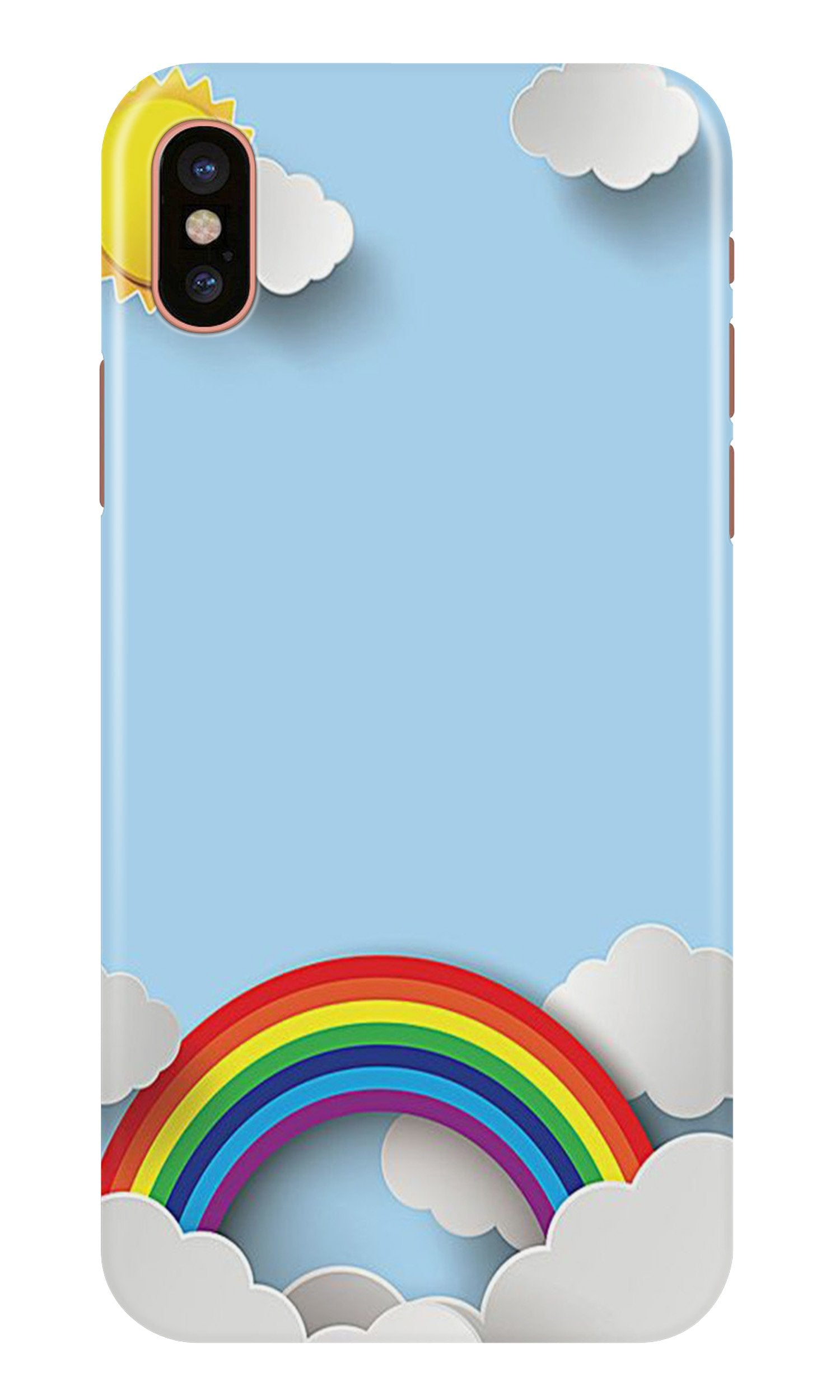Rainbow Case for iPhone X (Design No. 225)