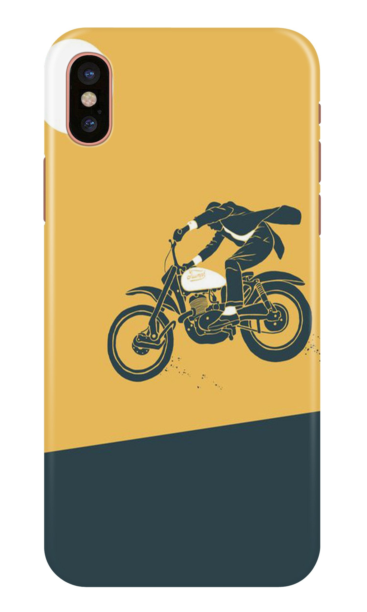 Bike Lovers Case for iPhone X (Design No. 256)