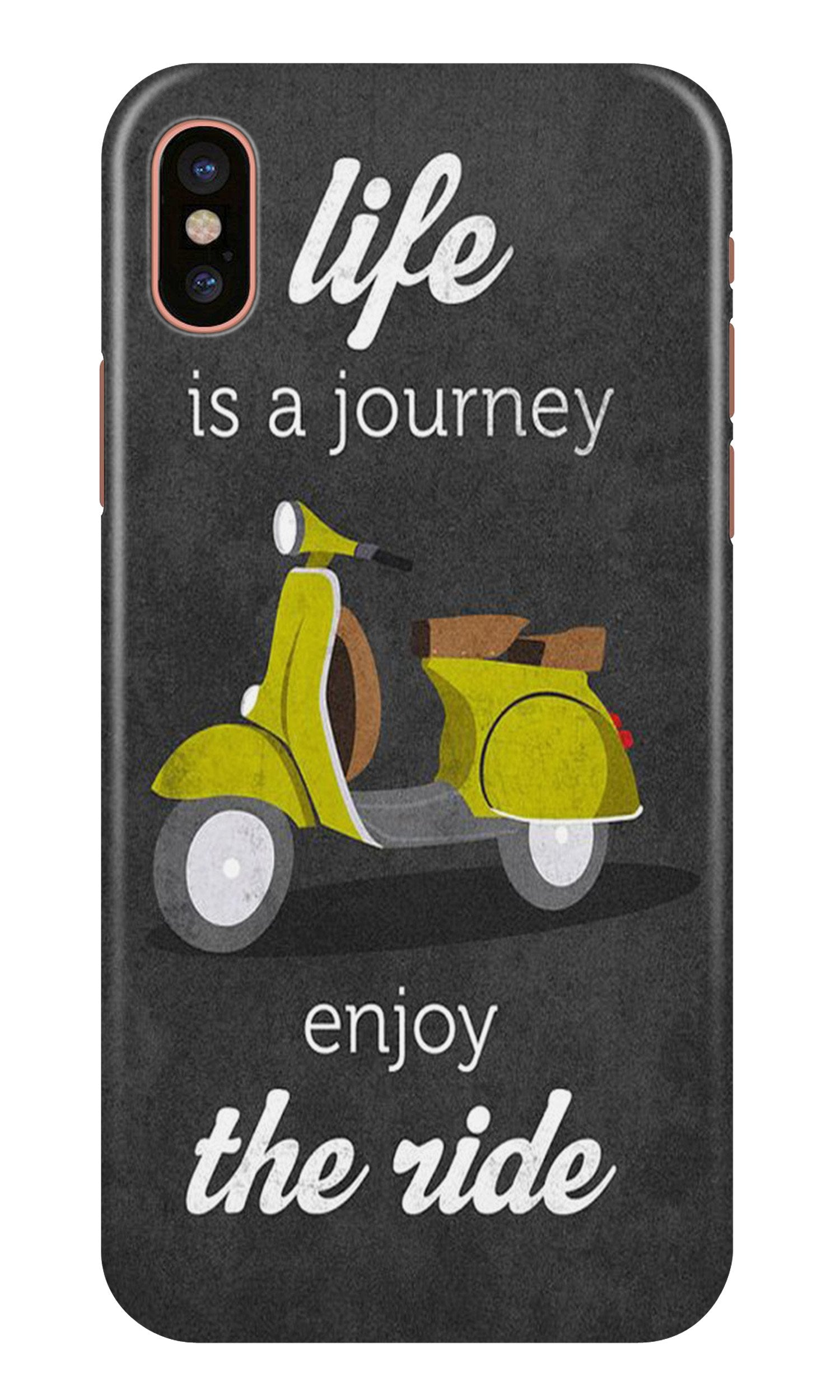 Life is a Journey Case for iPhone X (Design No. 261)