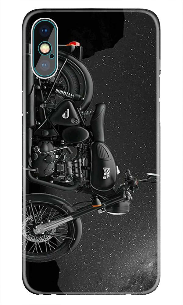 Royal Enfield Mobile Back Case for iPhone X  (Design - 381)