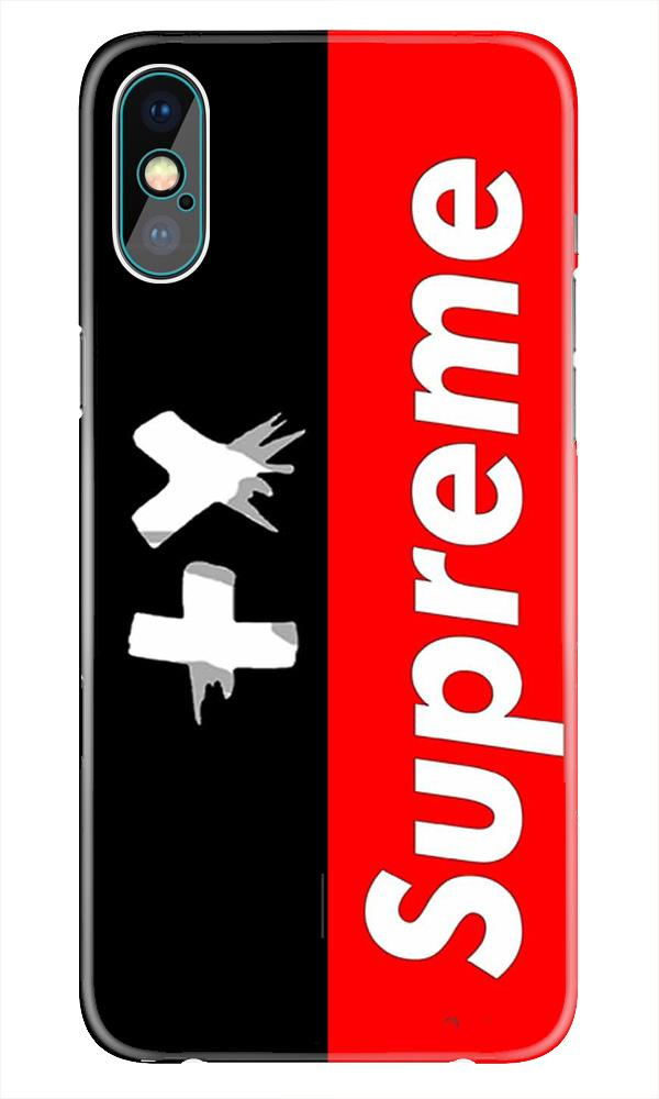 Supreme Mobile Back Case for iPhone X  (Design - 389)