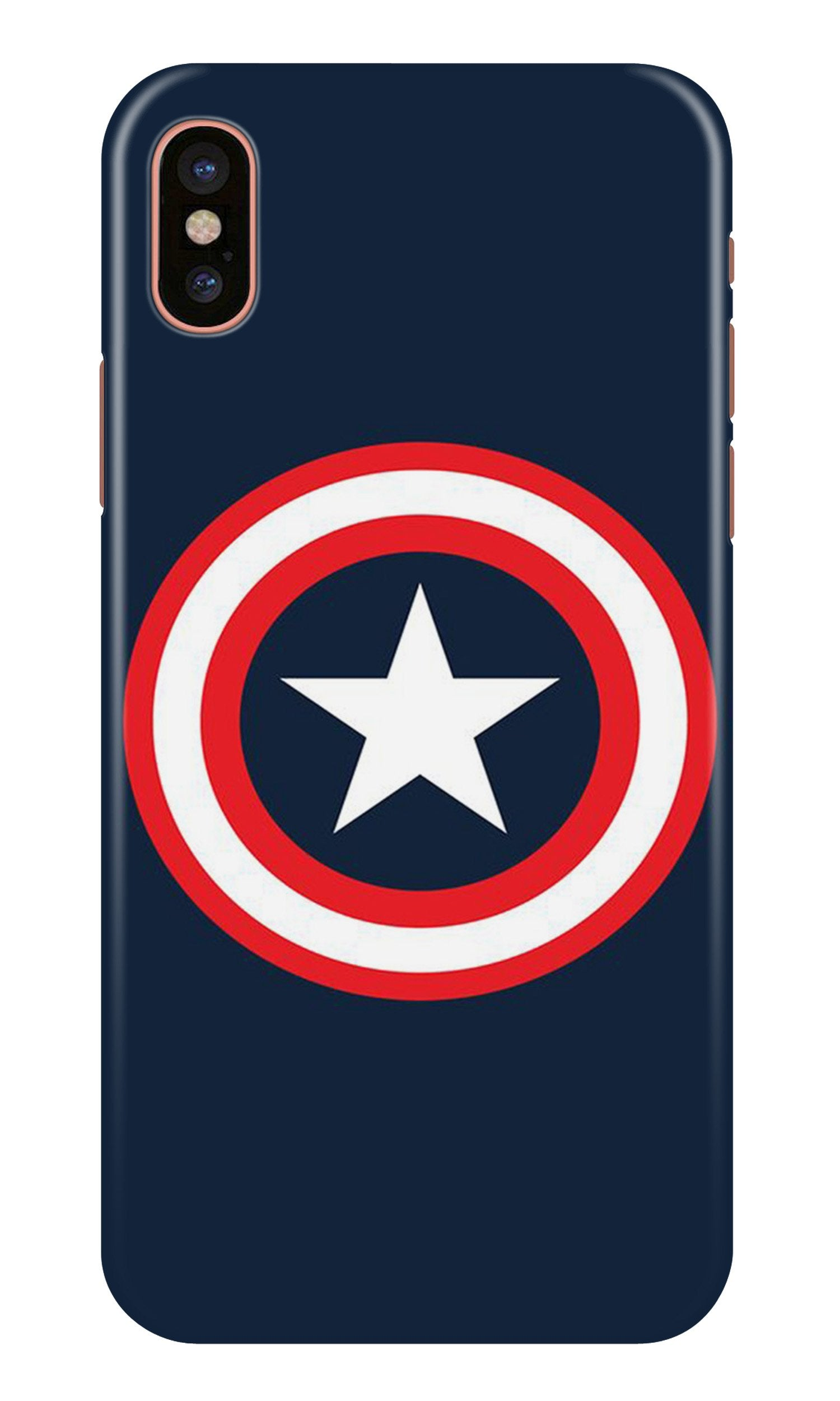 Captain America Case for iPhone Xr