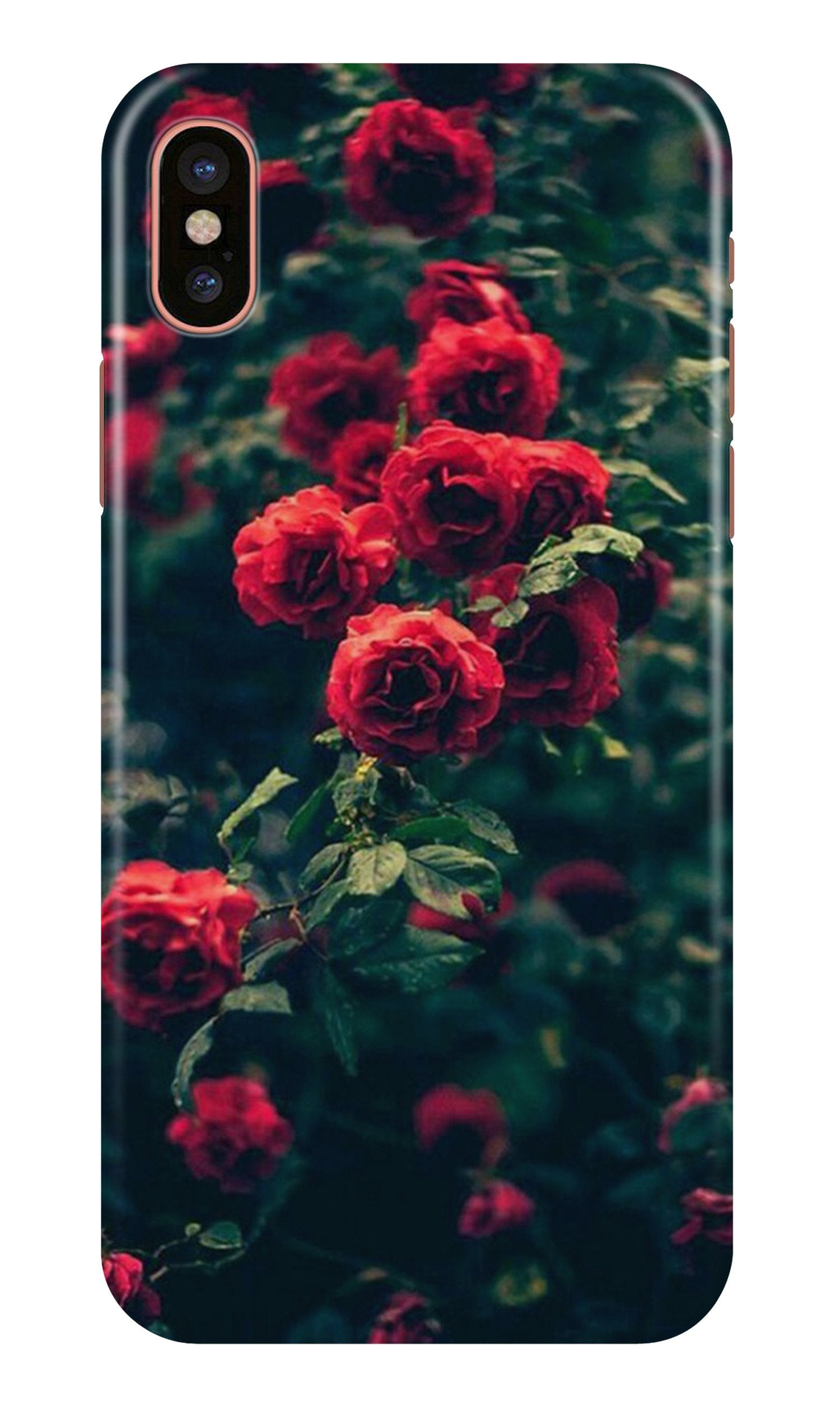 Red Rose Case for iPhone Xr