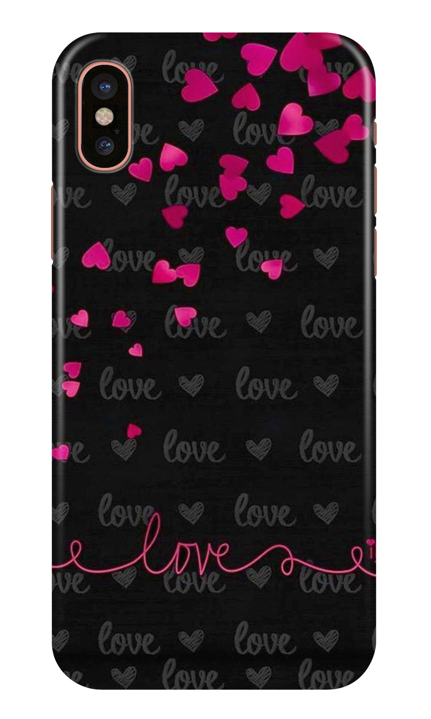 Love in Air Case for iPhone Xr