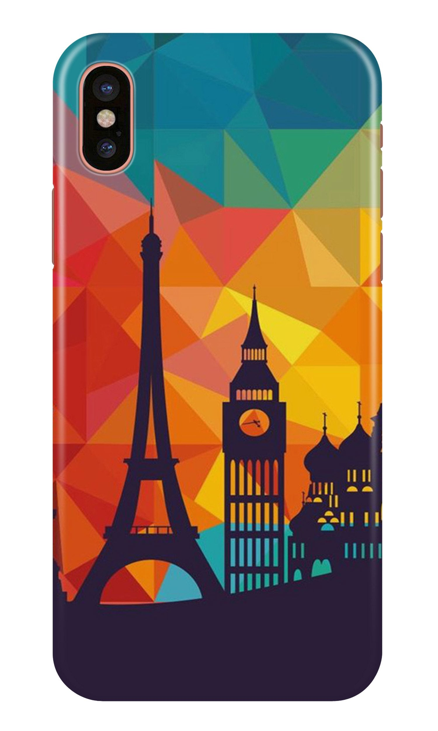 Eiffel Tower2 Case for iPhone Xr