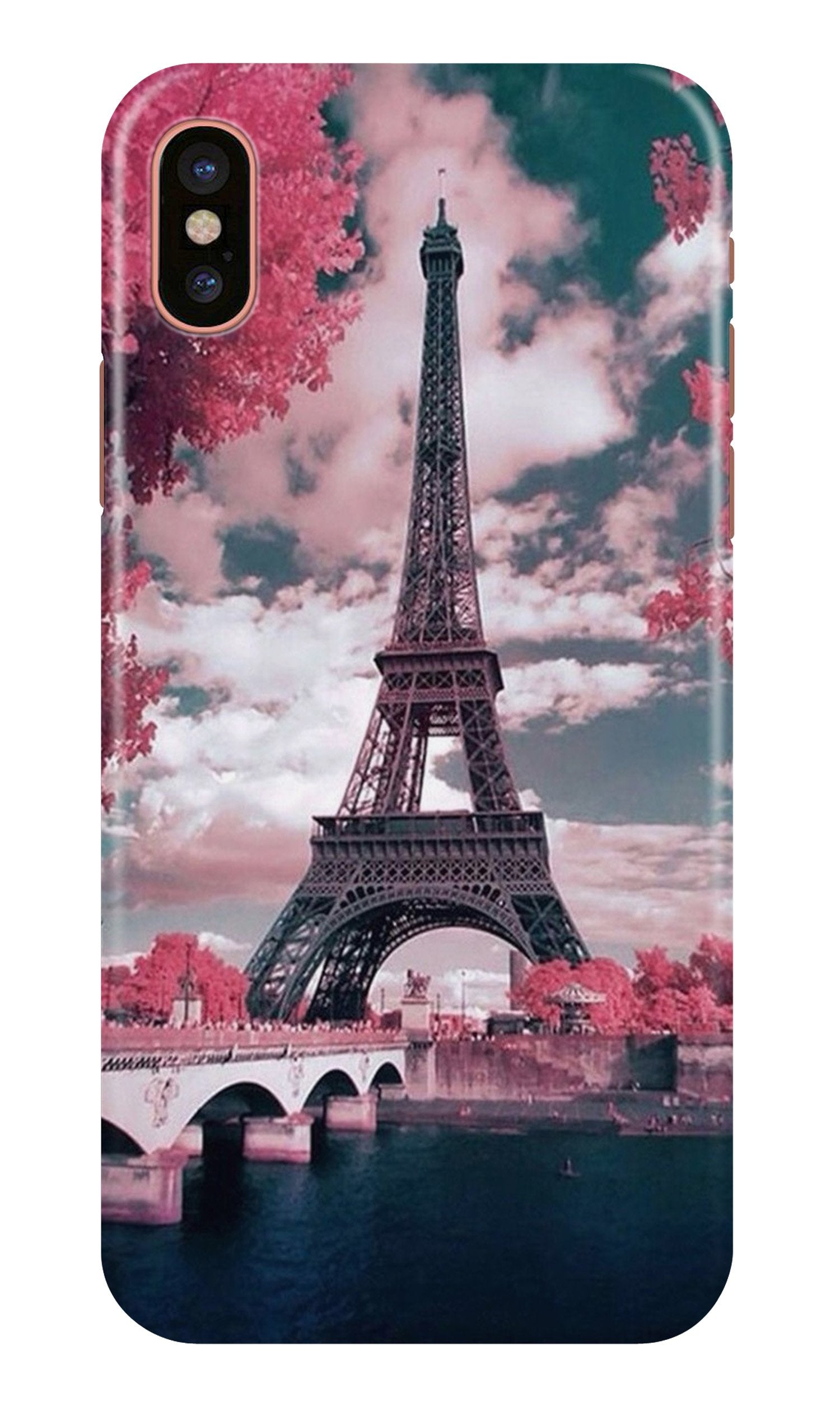 Eiffel Tower Case for iPhone Xr  (Design - 101)