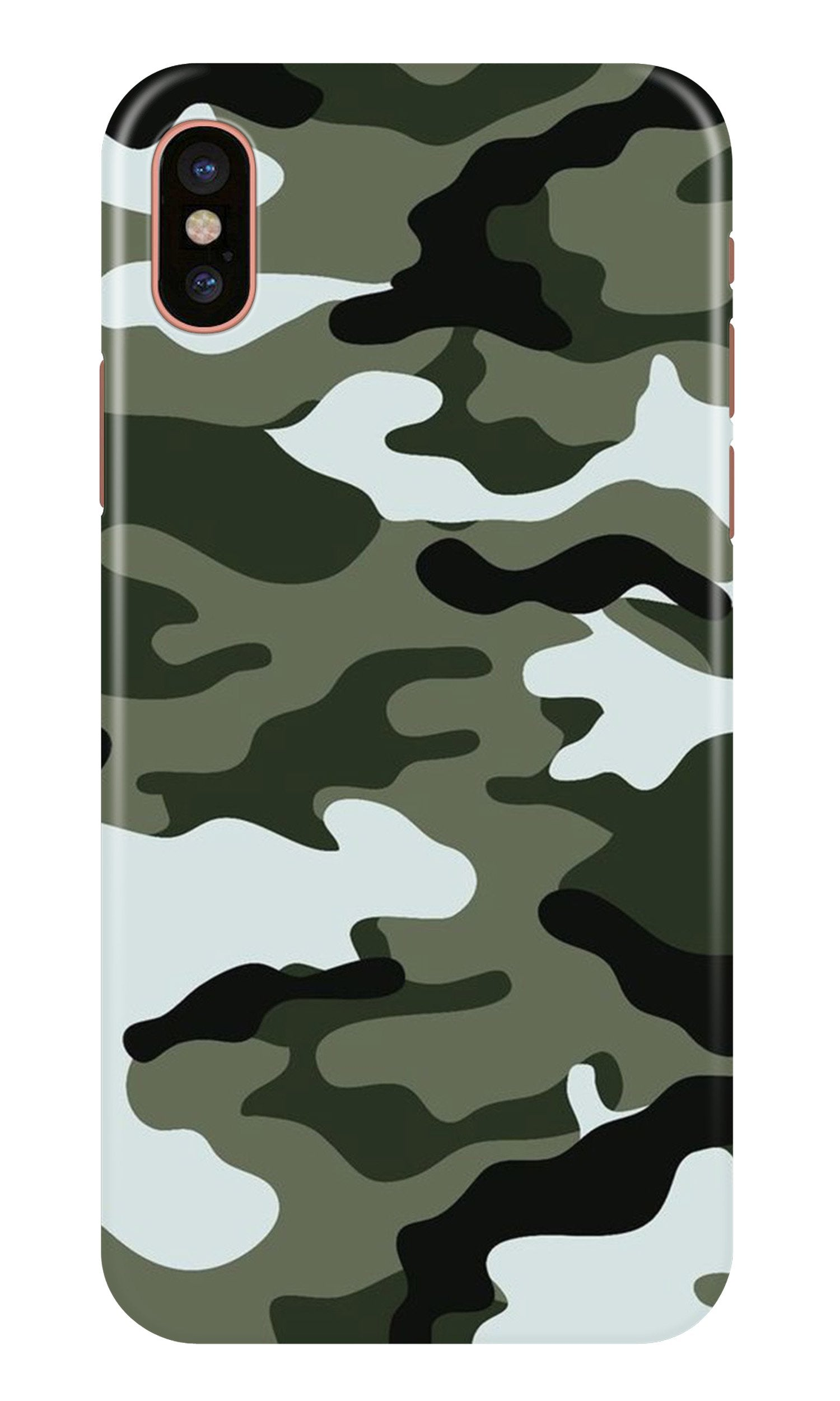 Army Camouflage Case for iPhone Xr  (Design - 108)