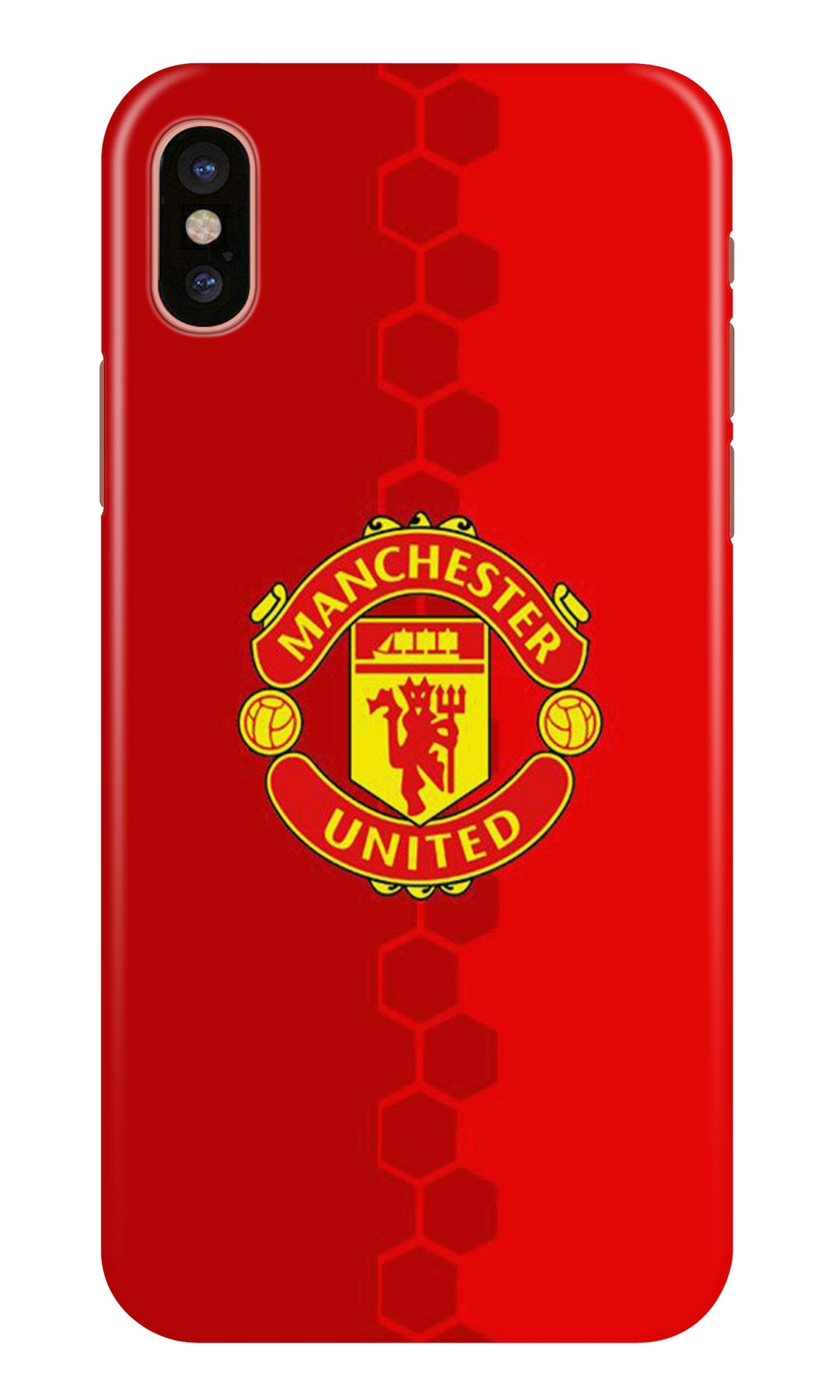 Manchester United Case for iPhone Xr  (Design - 157)