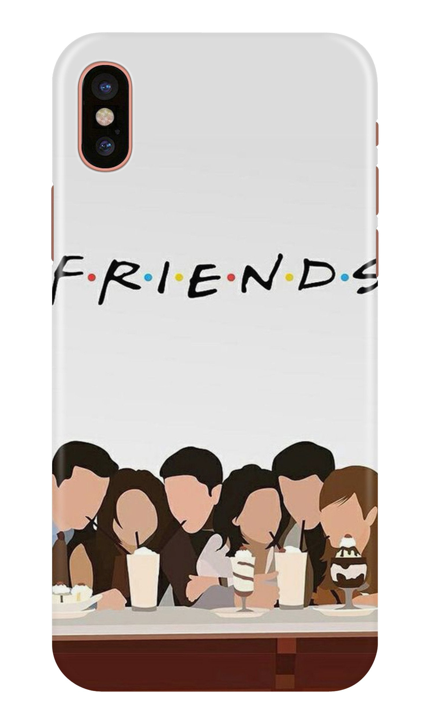 Friends Case for iPhone Xr (Design - 200)